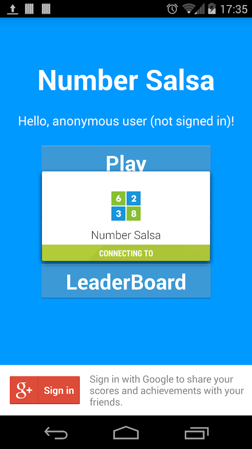 Number Salsa- screenshot