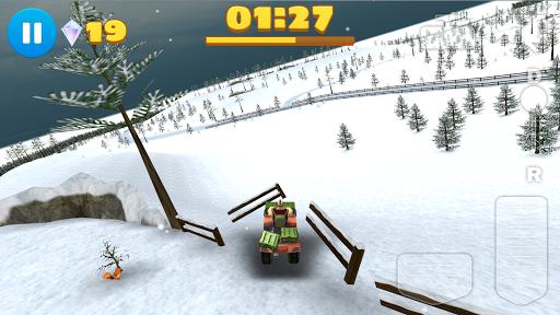 無料赛车游戏Appの4x4のオフロード 冬のゲームATV|記事Game