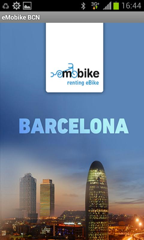 eMobike BCN - screenshot
