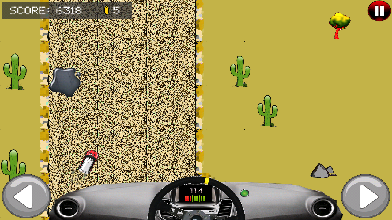 Kids Rally Car Racing- screenshot
