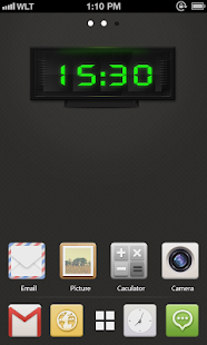 Mechanical - Clock Widget - screenshot thumbnail