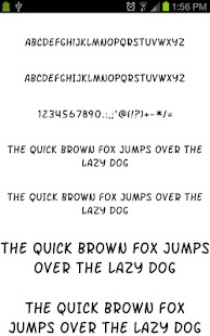 Fonts for Galaxy FlipFont Free- screenshot thumbnail