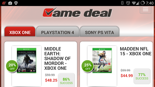 Game Deals - All Xbox PS PC