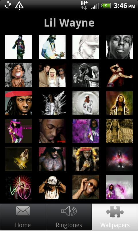 lil wayne ringtones and walls - screenshot