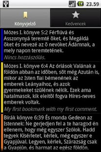 Szent Biblia (Holy Bible)- screenshot thumbnail