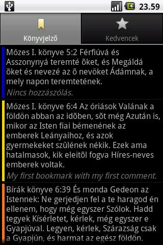 Szent Biblia (Holy Bible) - screenshot