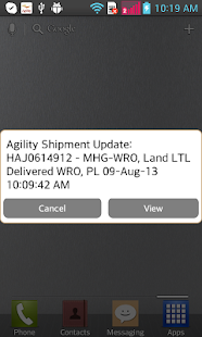 Agility Logistics- screenshot thumbnail