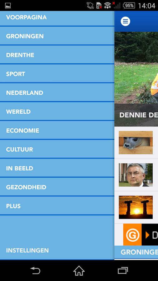 Dagblad van het Noorden DvhN - screenshot