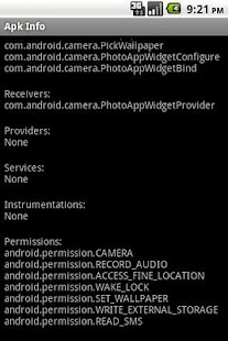 Apk Info OS 1.3 free - screenshot thumbnail