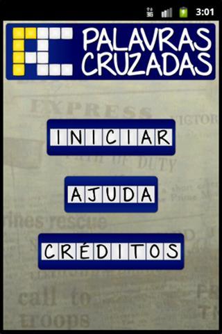 Palavras Cruzadas - BR- screenshot