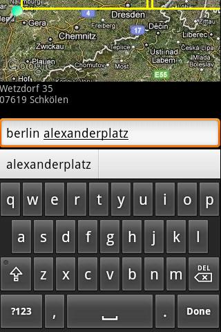 QTH Locator Droid- screenshot