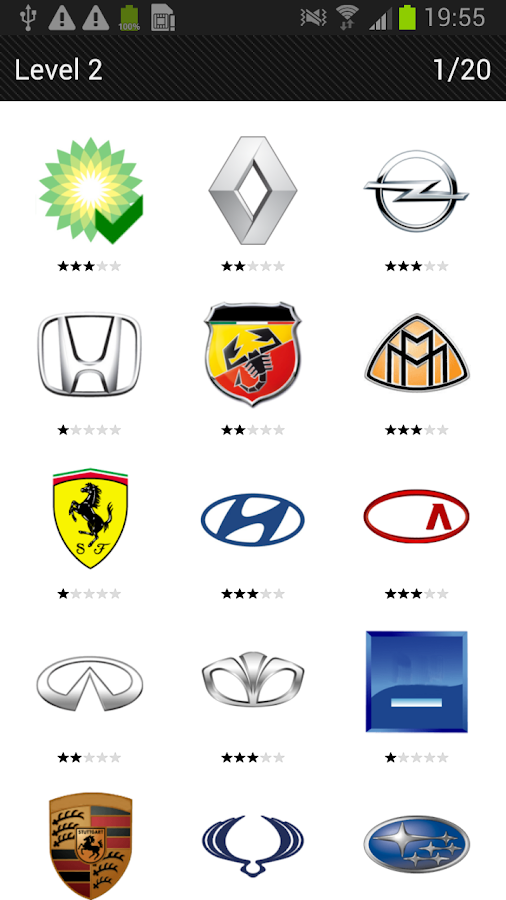 Logo Quiz - Cars- screenshot