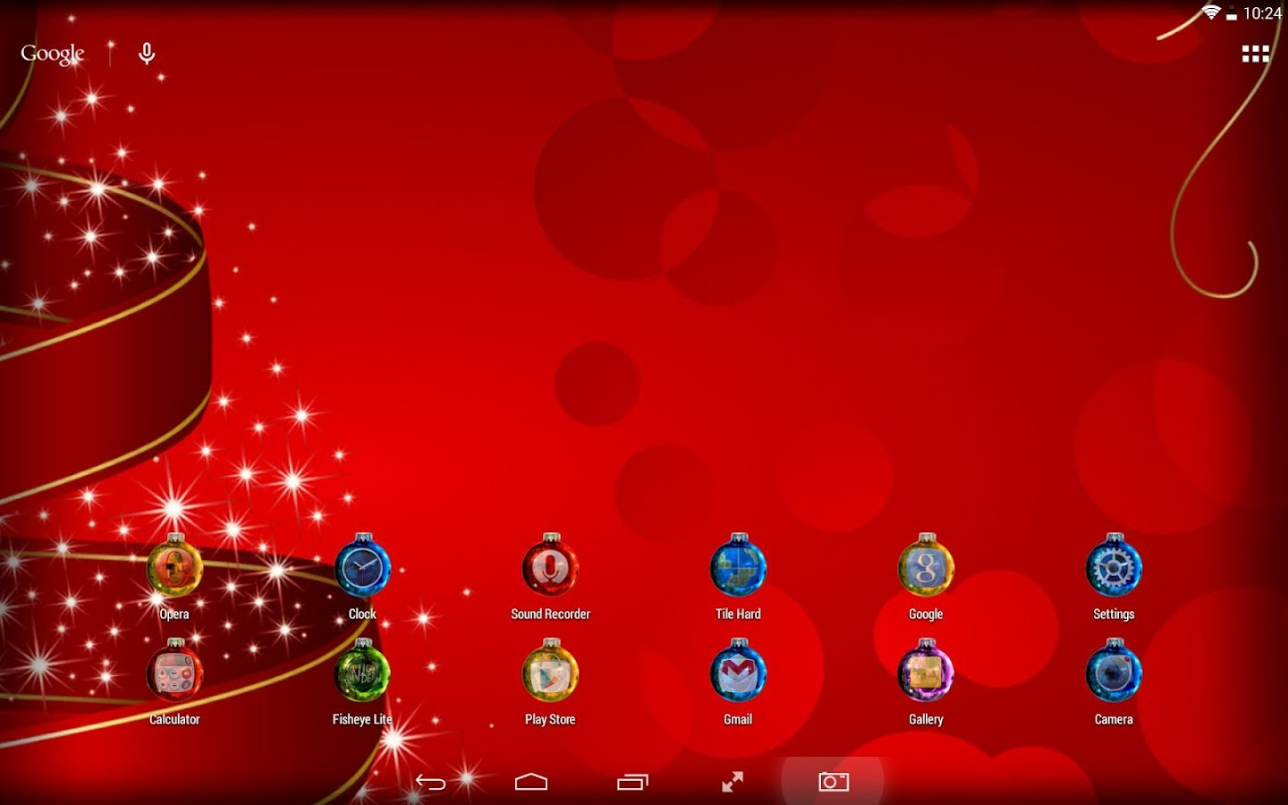 Xmas ball Icon Pack- screenshot