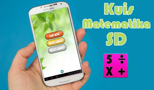 Kuis Matematika Anak SD- screenshot thumbnail