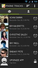 Phone Tracks Screenshot 2