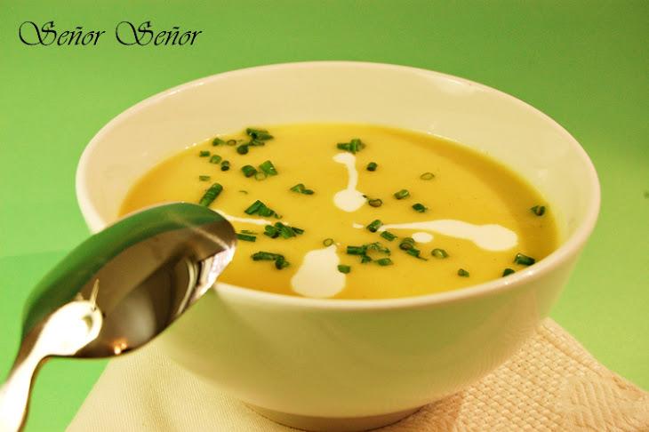 Curried Cream of Leek Soup Recipe