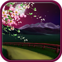 Evening sakura live wallpaper icon