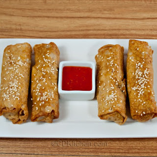 Chinese Vegetable Egg Rolls Recipes.