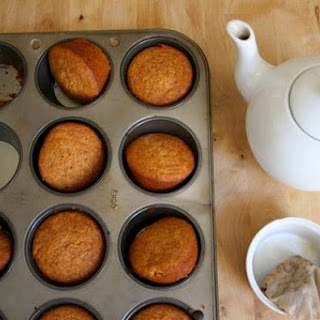Whole Wheat Carrot Muffins.