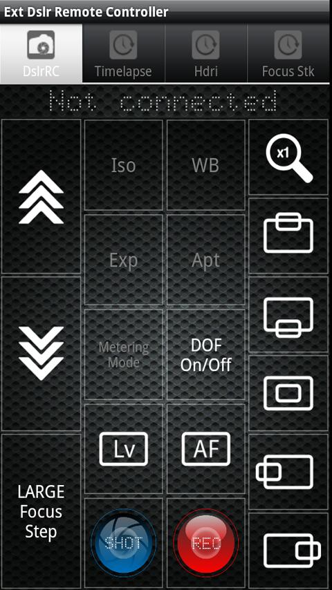 DSLR Remote Controller Ext - screenshot