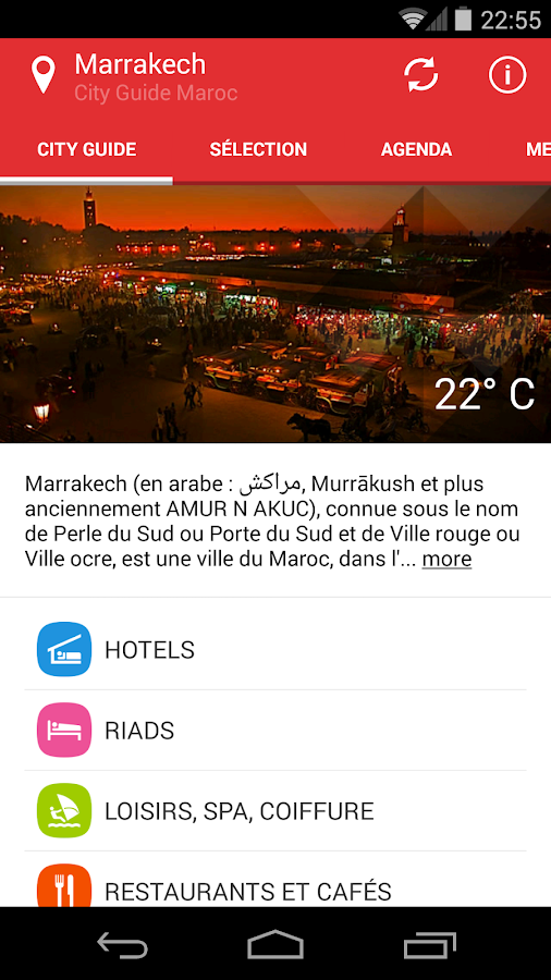 City Guide Maroc Marrakech- screenshot