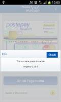 Screenshot of PosteMobile NFC
