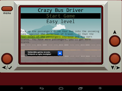 Crazy Bus Driver- screenshot thumbnail