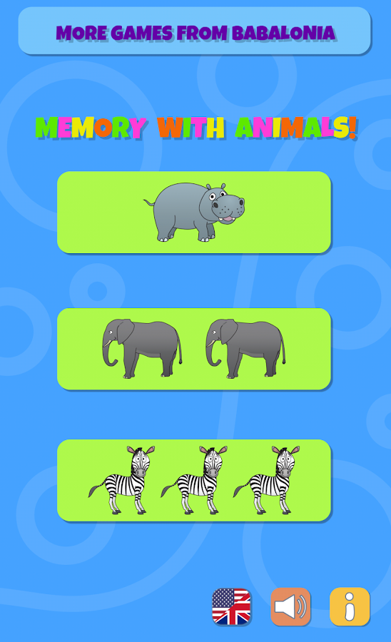 Preschool Memory Match- screenshot