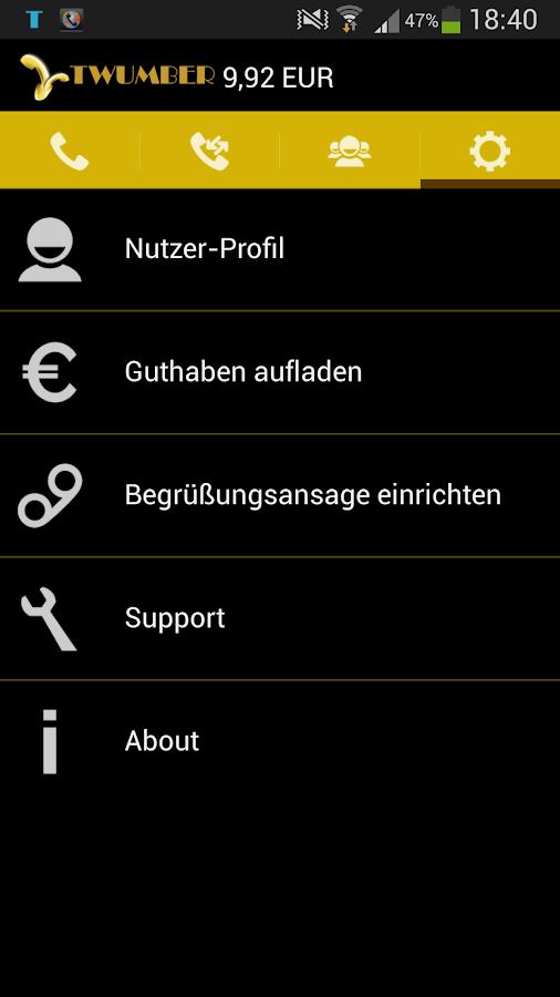 TWUMBER- screenshot