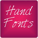 Hand3 fonts for FlipFont® free icon