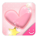 pink heart Theme icon