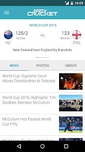 NDTV Cricket - screenshot thumbnail