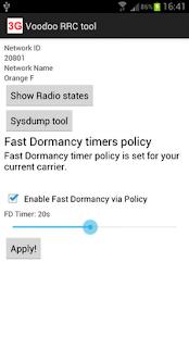 Voodoo RRC Tool fast dormancy
