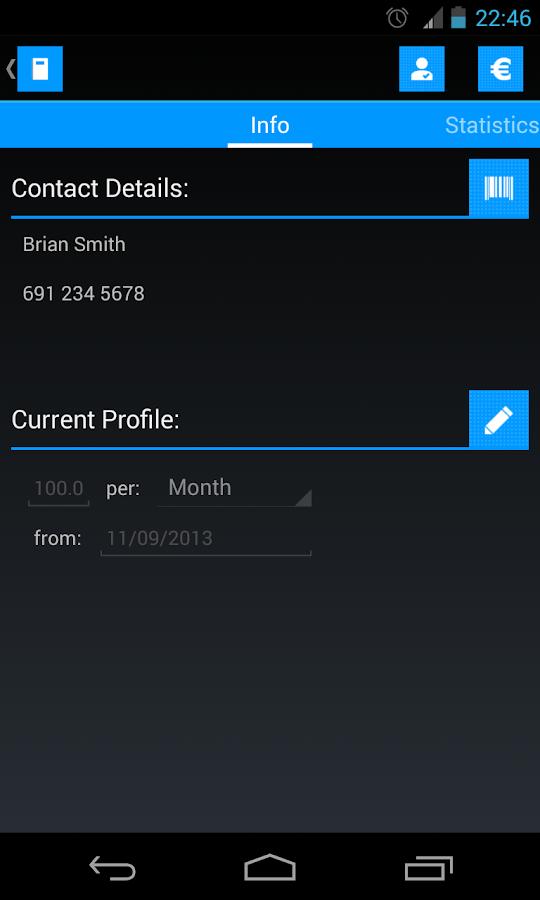 Τεφτέρι (Παρουσιολόγιο) - screenshot