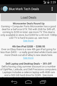 Blue Mark Tech Deals screenshot 2