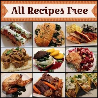 All Recipes Free - Food Recipes Cookbook