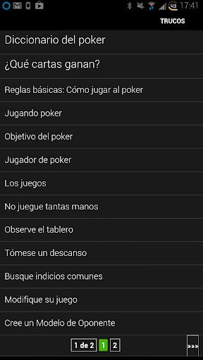 Trucos de Poker