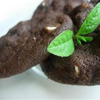 White Chip Chocolate Cookies.