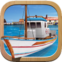 Fishing Boat Parking 3D Game icon
