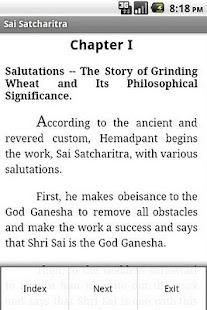 Sai Satcharitra English - screenshot thumbnail