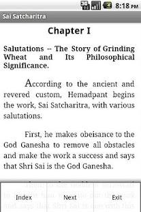 Sai Satcharitra English - screenshot thumbnail