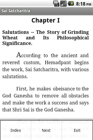 Sai Satcharitra English - screenshot