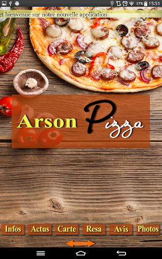 Arson Pizza