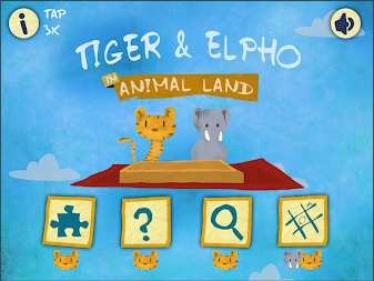 Tiger & Elpho in animal land - game box for kids APK screenshot thumbnail 7