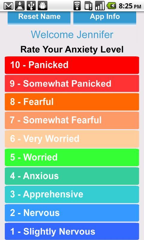 Anxiety- screenshot