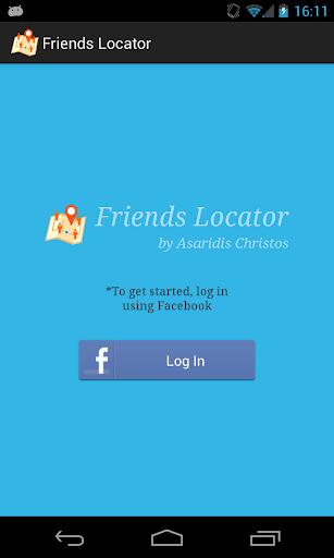 Friends Locator for Facebook