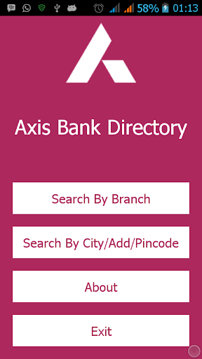 Axis Bank - Branch Details