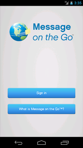 Message on the Go