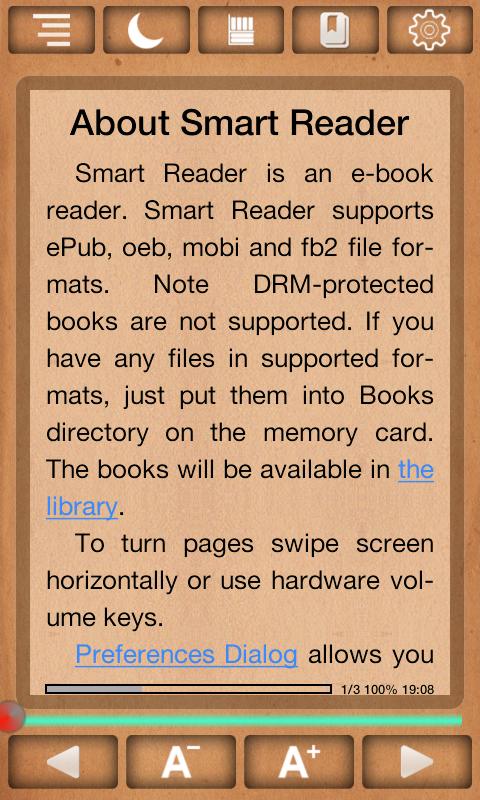 Smart Reader - screenshot