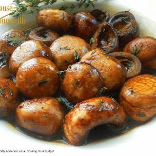Steak House Mushrooms Marsala.